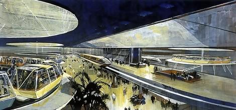 Walt Disney plante eine Stadt der Zukunft, die bis heute futuristisch wirkt.