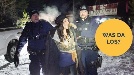 Wet'suwet'en: Indigener Widerstand gegen eine Pipeline in Kanada schlägt Wellen