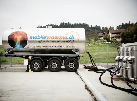 Mit Wärmecontainern Abwärme auffangen und dorthin transportieren, wo sie gebraucht wird