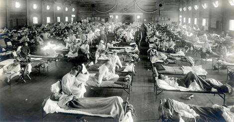 Eine kurze Geschichte der Spanischen Grippe