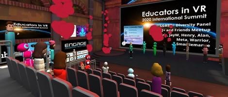 Konferenzen in VR funktionieren – und lassen sich wirklich leicht organisieren