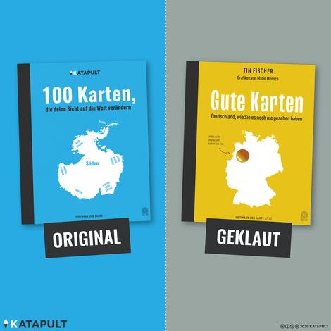 Katapult vs. Hoffmann und Campe: Klaut ein großer Verlag maximal dreist von einem kleinen Magazin?
