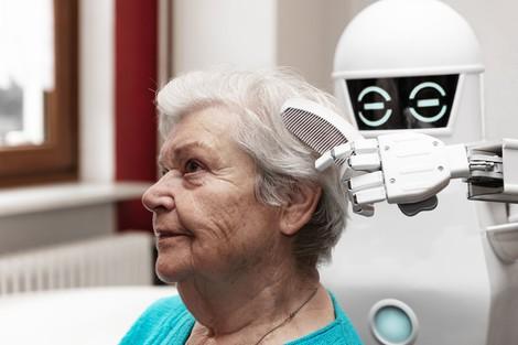 Roboter brauchen keine Masken ;-)
