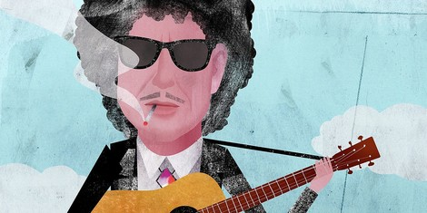 «The future for me is already a thing of the past.» – Die Masken von Bob Dylan