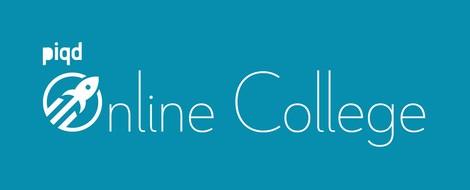 """Wir starten das """"piqd Online College"""" und stellen täglich spannende Themen vor"""