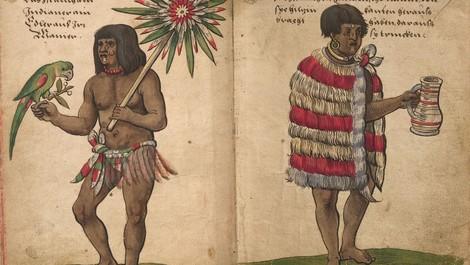 Als Azteken Europa entdeckten