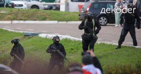 Reminder: In Belarus herrscht Freiheitskampf