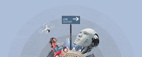 Vom Büro zur mobilen Arbeit und dann zur AR/VR-basierten Arbeit