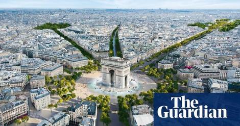 Champs-Elysée: Um die Hälfte weniger Autos, mehr Platz für Menschen