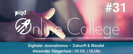 Digitaler Journalismus – Zukunft & Wandel | Alexander Sängerlaub