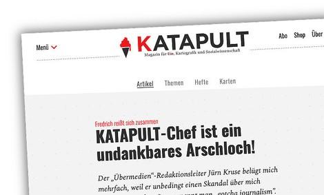 Katapult vs. Übermedien: Warum streiten zwei tolle Medienprojekte?