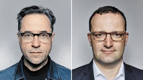 Unpiq: Jan Josef Liefers und Jens Spahn reden miteinander