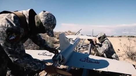 Mit Raketen und Drohnen gegen Israel