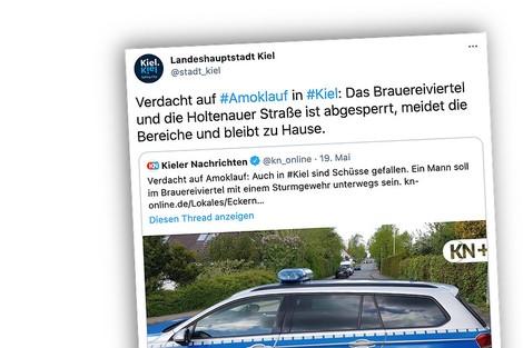 Als Medien in Kiel aus einem Gerücht einen Amoklauf machten