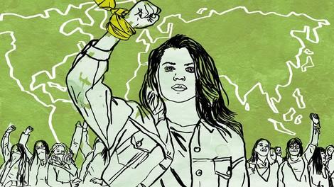 Weltweite Einblicke in den feministischen Kampf