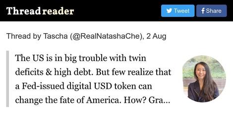 Wie ein eDollar den USA aus der Schuldenfalle helfen könnte