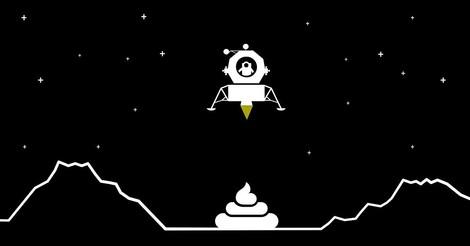 Warum Wissenschaftler fasziniert sind von Windeln auf dem Mond